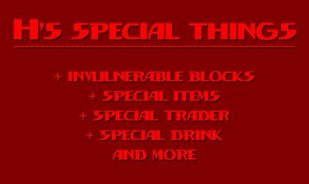 7 days to die h's special things