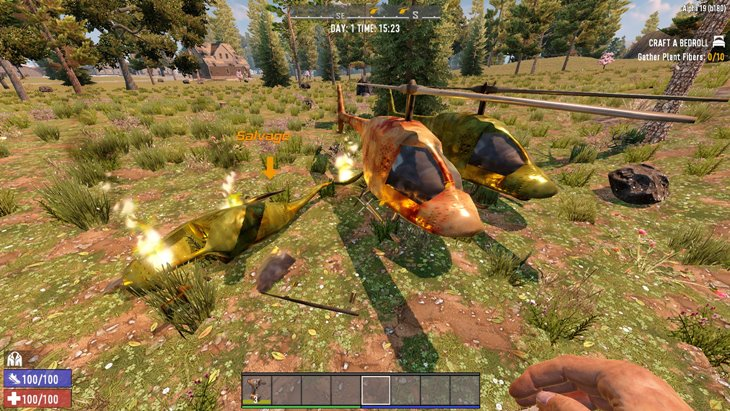 7 days to die biplane and helicopter additional screenshot 1