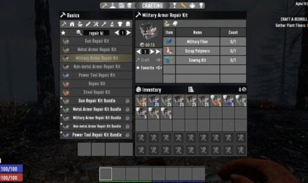7 days to die advanced repair kits, 7 days to die armor mods, 7 days to die clothing, 7 days to die tools, 7 days to die weapons