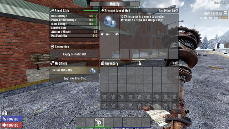 7 days to die alucard's blessed metal mod, 7 days to die melee weapons, 7 days to die weapons
