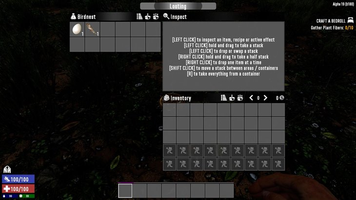 7 days to die donovan ui (simple), 7 days to die hud mod, 7 days to die buttons, 7 days to die backpack