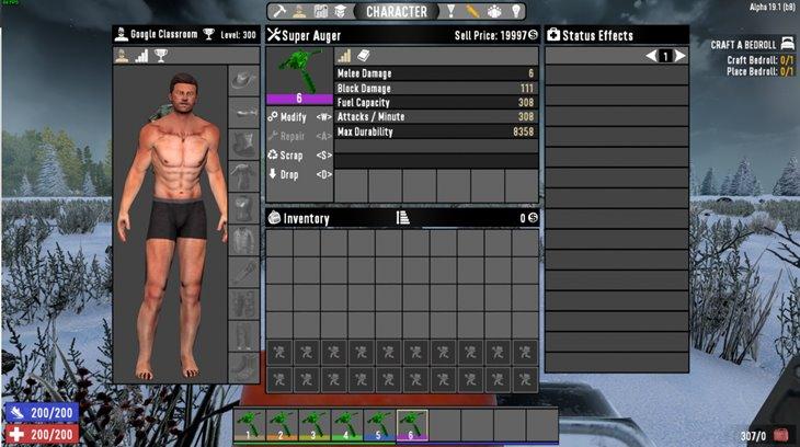 7 days to die hulvey's super auger mod additional screenshot 2