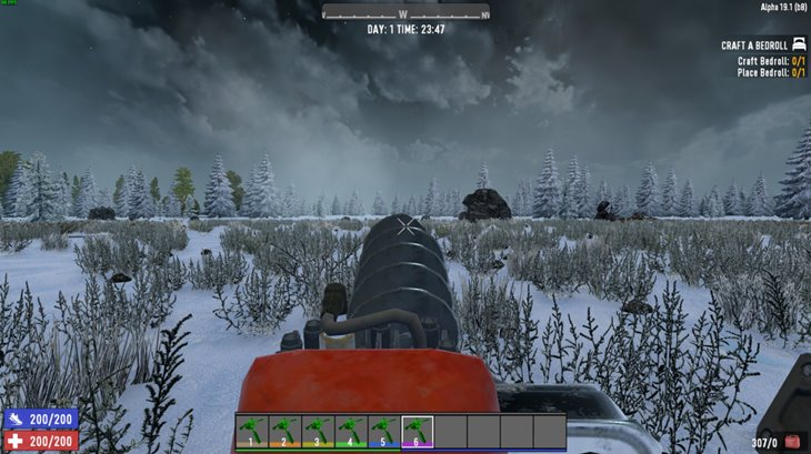 7 days to die hulvey's super auger mod, 7 days to die tools