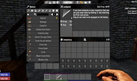 7 days to die lockpicking, 7 days to die tools