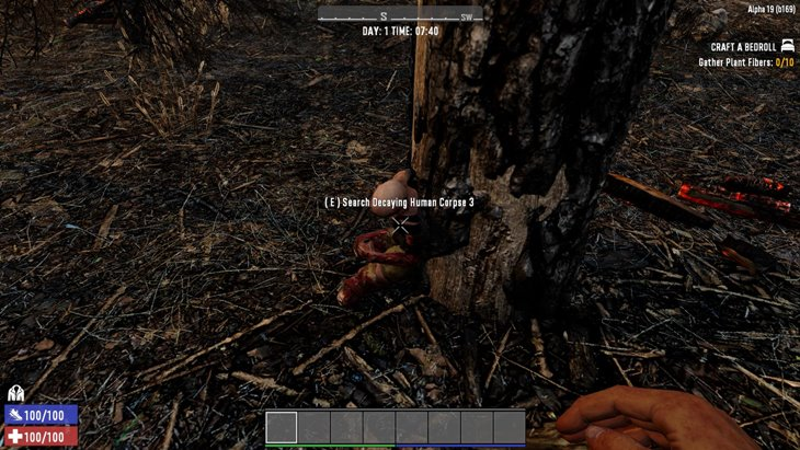 7 days to die lootable static zombie corpses and dead zombies, 7 days to die zombies, 7 days to die loot