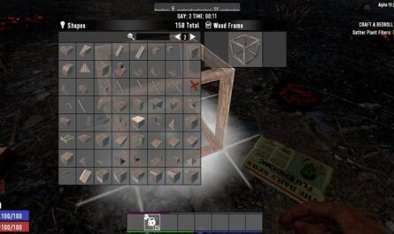 7 days to die more wood shapes, 7 days to die building materials