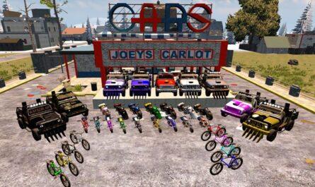 7 days to die paintjob, 7 days to die truck mods, 7 days to die motorcycle, 7 days to die bicycle, 7 days to die vehicles