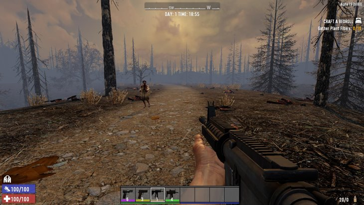 7 days to die rickyralph's guns, 7 days to die weapons, 7 days to die ammo