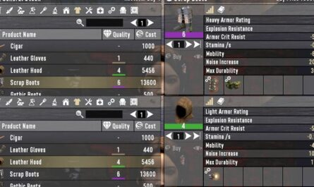 7 days to die armor and cloth sold with mods, 7 days to die armor mods, 7 days to die clothing, 7 days to die trader