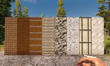 7 days to die new block textures, 7 days to die building materials, 7 days to die textures, 7 days to die dmt mods