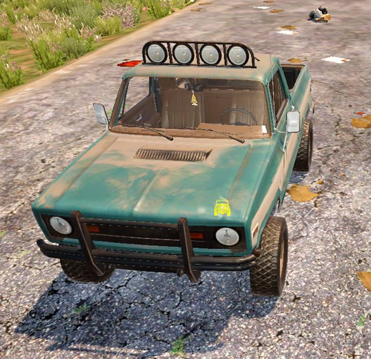 7 days to die pickup truck, 7 days to die truck mods, 7 days to die vehicles