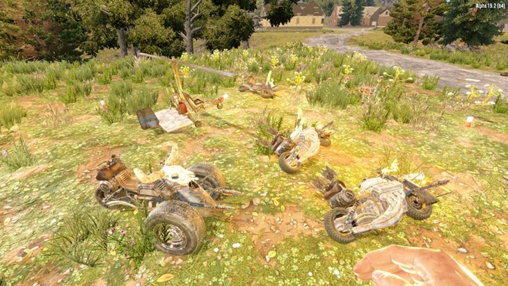 7 days to die snufkin's community pack server side vehicles additional screenshot 2