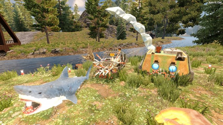 7 days to die snufkin's community pack server side vehicles additional screenshot 3