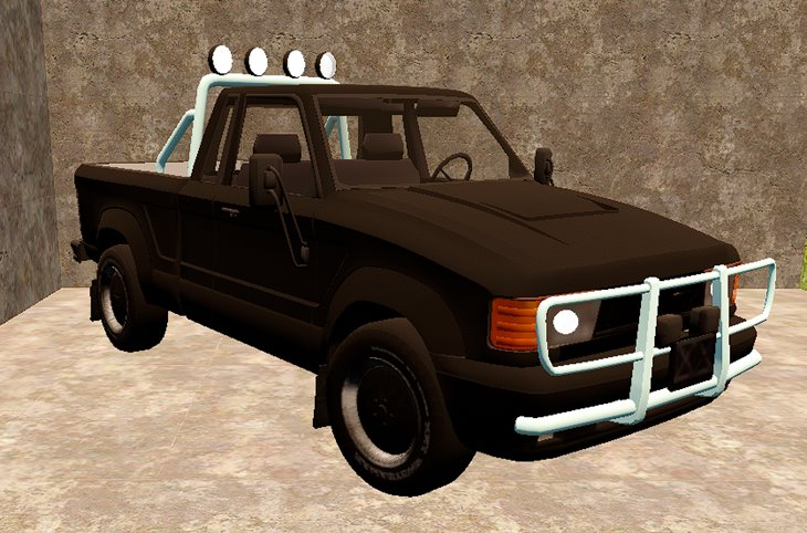 7 days to die fortbrick2's pickup, 7 days to die truck mods, 7 days to die vehicles