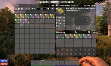 7 days to die rework repair and learn weapons tools and armors, 7 days to die weapons, 7 days to die tools, 7 days to die armor mods