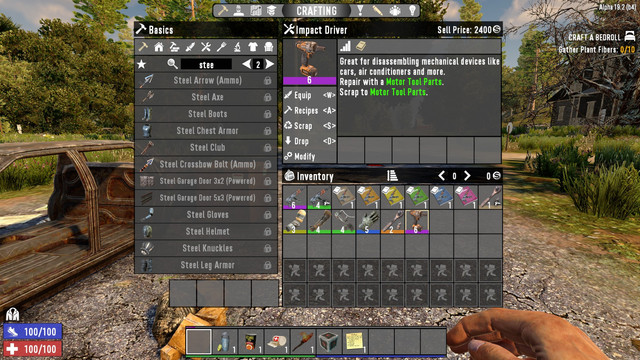 7 days to die rework repair and learn weapons tools and armors additional screenshot 1