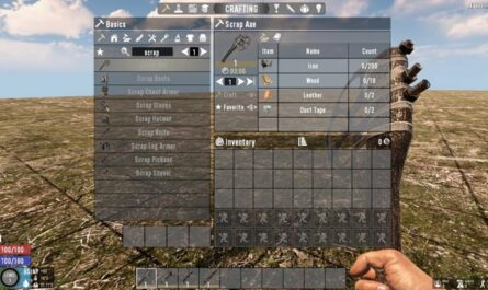 7 days to die snufkin's scrap tools, 7 days to die tools