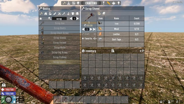 7 days to die snufkin's scrap tools additional screenshot 1
