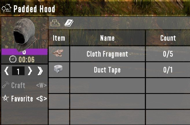 7 days to die craft level 6 armor additional screenshot 1
