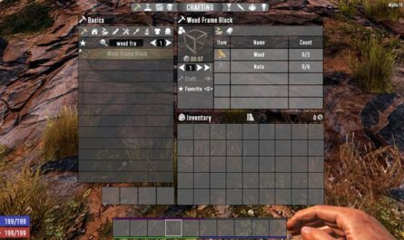 7 days to die slow build, 7 days to die building materials