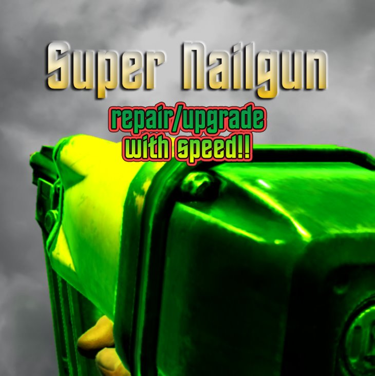 7 days to die super nailgun, 7 days to die tools