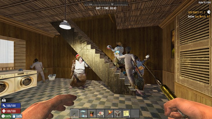 7 days to die telric's spy party additional screenshot