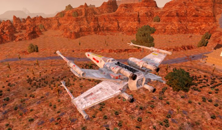 X-Wing T65 – An Oblivion Mod