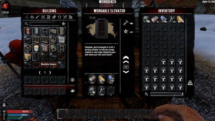 7 days to die ztensity's functional elevator additional screenshot 1