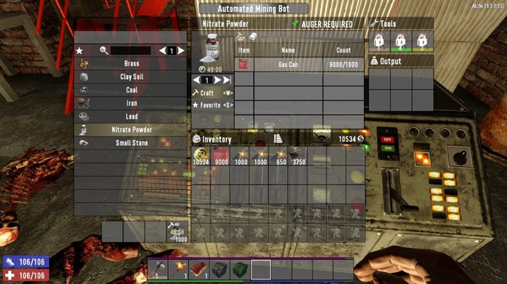 7 days to die AutoBots - automated mining and ammunition bots (revisited) additional screenshot 4