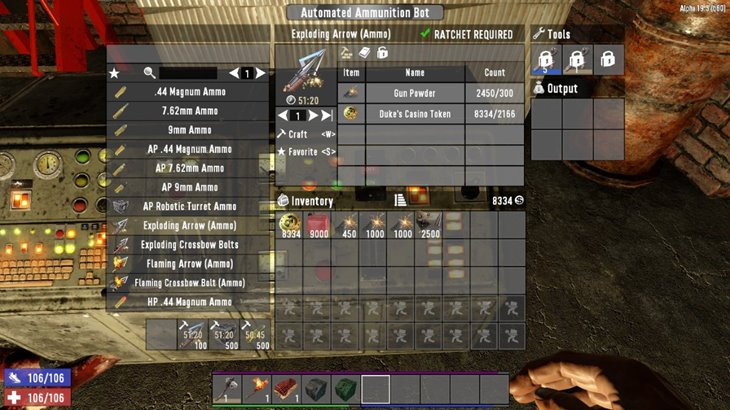 7 days to die AutoBots - automated mining and ammunition bots (revisited) additional screenshot 5