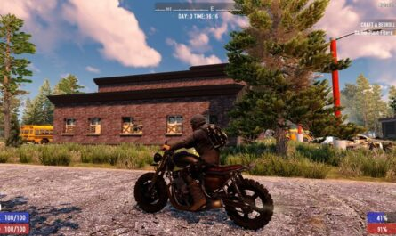7 days to die chaos motorcycle mod, 7 days to die motorcycle, 7 days to die vehicles
