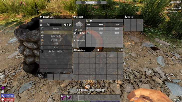 7 days to die realistic cement, 7 days to die building materials