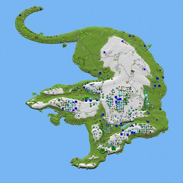 7 days to die tiger maps, 7 days to die maps