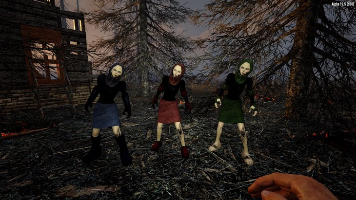 7 days to die enZombies - more zombie variations additional screenshot 4