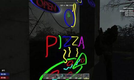7 days to die neon signs, 7 days to die lights, 7 days to die building materials, 7 days to die dmt mods