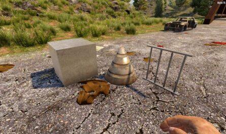 7 days to die admin steel, 7 days to die spikes, 7 days to die traps, 7 days to die building materials