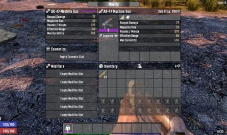 7 days to die quality control, 7 days to die weapons, 7 days to die tools, 7 days to die armor mods, 7 days to die more slots