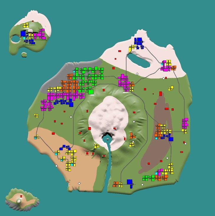 7 days to die the forgotten island (map), 7 days to die maps