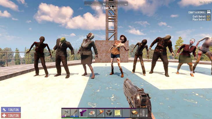 7 days to die modeled zombies, 7 days to die zombies